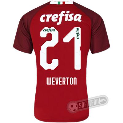 Camisa Palmeiras - Goleiro (WEVERTON #21)
