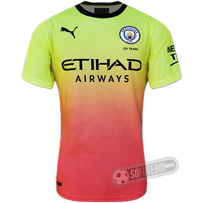 Camisa Manchester City - Modelo III