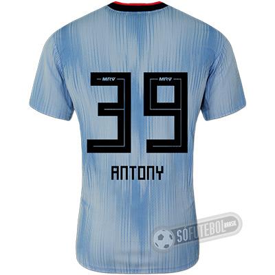 Camisa São Paulo - Modelo III (ANTONY #39)