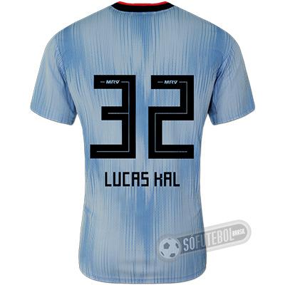 Camisa São Paulo - Modelo III (LUCAS KAL #32)