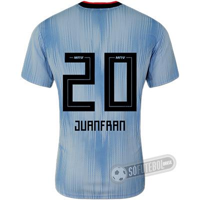 Camisa São Paulo - Modelo III (JUANFRAN #20)