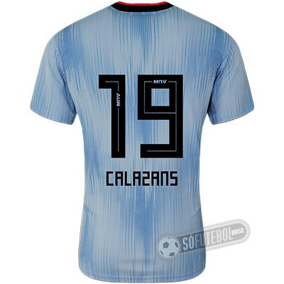 Camisa São Paulo - Modelo III (CALAZANS #19)