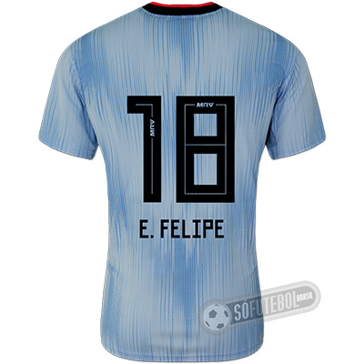 Camisa São Paulo - Modelo III (E. FELIPE #18)