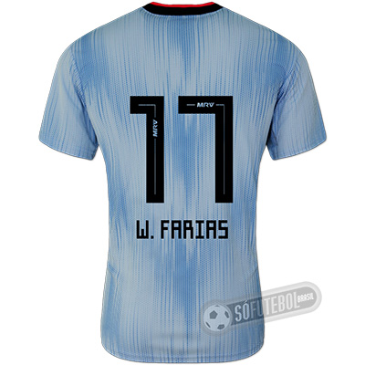 Camisa São Paulo - Modelo III (W. FARIAS #17)