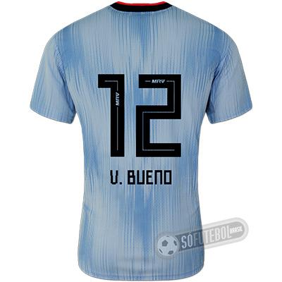 Camisa São Paulo - Modelo III (V. BUENO #12)
