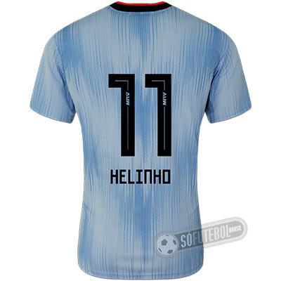 Camisa São Paulo - Modelo III (HELINHO #11)