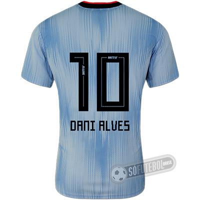 Camisa São Paulo - Modelo III (DANI ALVES #10)