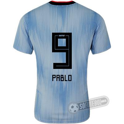 Camisa São Paulo - Modelo III (PABLO #9)