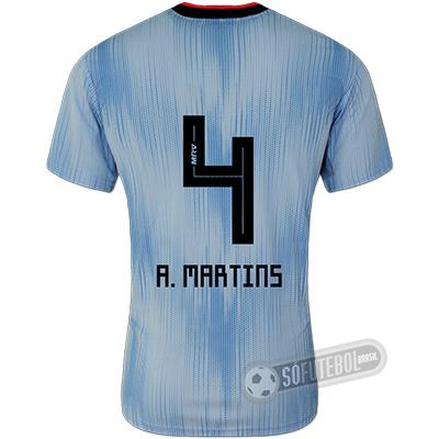 Camisa São Paulo - Modelo III (A. MARTINS #4)