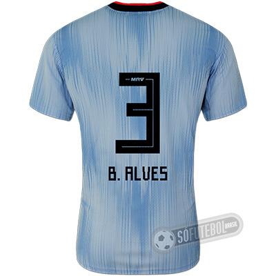 Camisa São Paulo - Modelo III (B. ALVES #3)