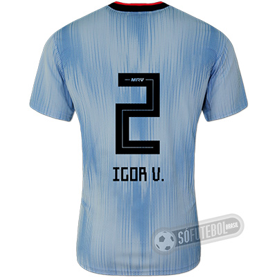 Camisa São Paulo - Modelo III (IGOR V. #2)