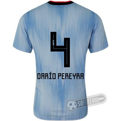 Camisa São Paulo - Modelo III (DARÍO PEREYRA #4)