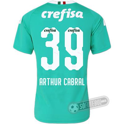 Camisa Palmeiras - Modelo III (ARTHUR CABRAL #39)