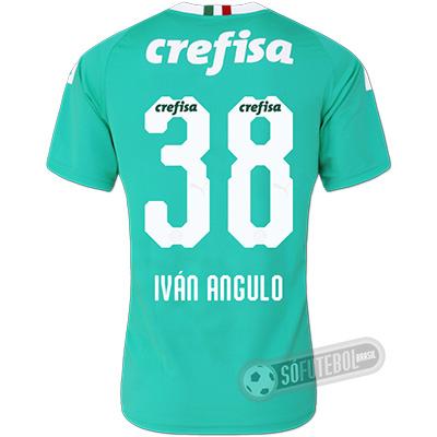 Camisa Palmeiras - Modelo III (IVÁN ANGULO #38)