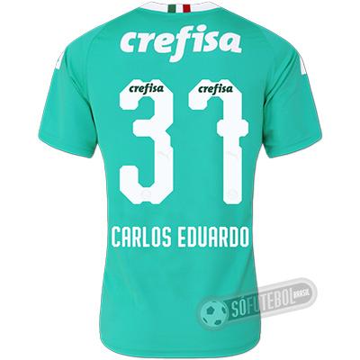 Camisa Palmeiras - Modelo III (CARLOS EDUARDO #37)