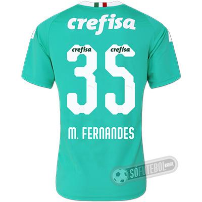 Camisa Palmeiras - Modelo III (M. FERNANDES #35)