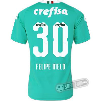 Camisa Palmeiras - Modelo III (FELIPE MELO #30)