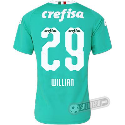 Camisa Palmeiras - Modelo III (WILLIAN #29)