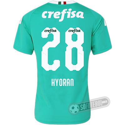 Camisa Palmeiras - Modelo III (HYORAN #28)