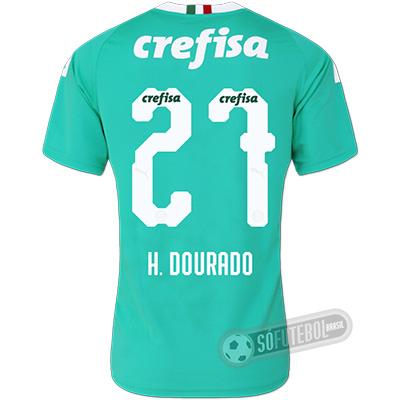 Camisa Palmeiras - Modelo III (H. DOURADO #27)