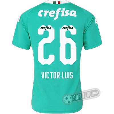 Camisa Palmeiras - Modelo III (VICTOR LUIS #26)