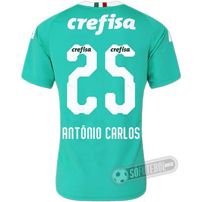 Camisa Palmeiras - Modelo III (ANTÔNIO CARLOS #25)