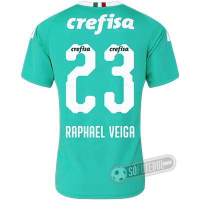 Camisa Palmeiras - Modelo III (RAPHAEL VEIGA #23)