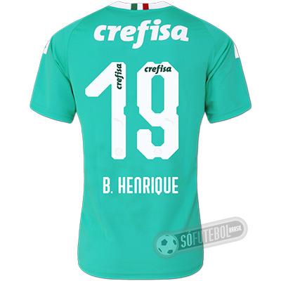 Camisa Palmeiras - Modelo III (B. HENRIQUE #19)