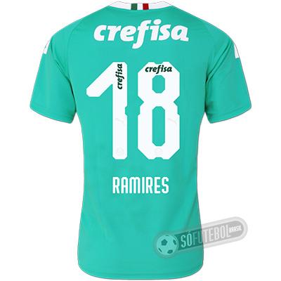 Camisa Palmeiras - Modelo III (RAMIRES #18)