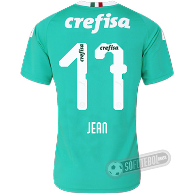 Camisa Palmeiras - Modelo III (JEAN #17)