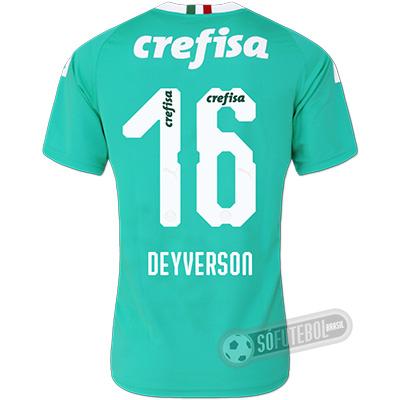 Camisa Palmeiras - Modelo III (DEYVERSON #16)