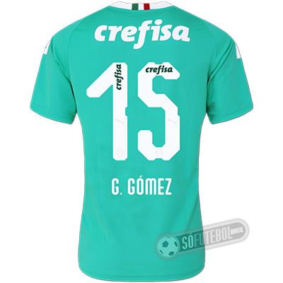 Camisa Palmeiras - Modelo III (G. GÓMEZ #15)