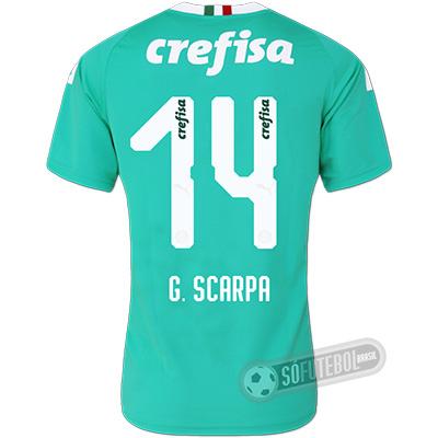 Camisa Palmeiras - Modelo III (G. SCARPA #14)
