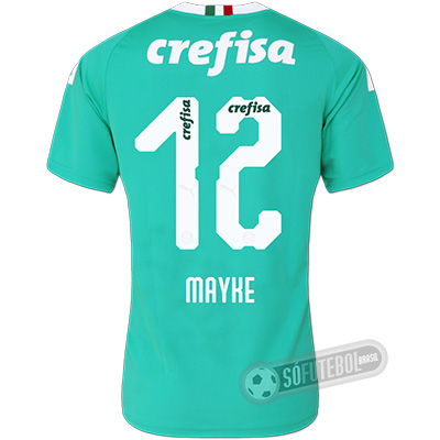 Camisa Palmeiras - Modelo III (MAYKE #12)
