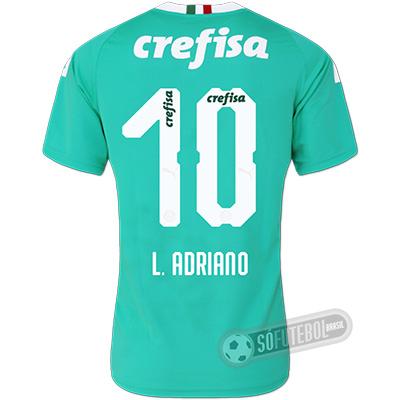 Camisa Palmeiras - Modelo III (L. ADRIANO #10)