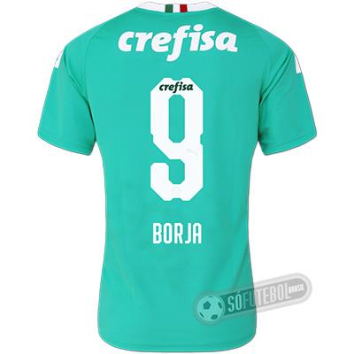 Camisa Palmeiras - Modelo III (BORJA #9)