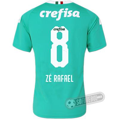 Camisa Palmeiras - Modelo III (ZÉ RAFAEL #8)