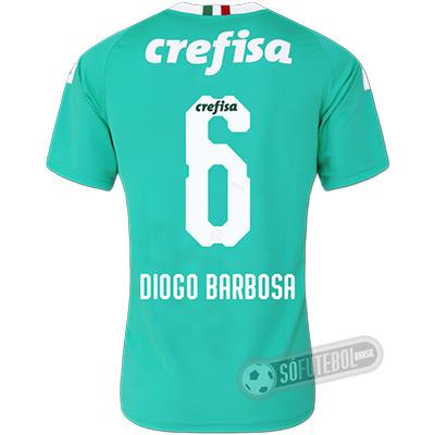 Camisa Palmeiras - Modelo III (DIOGO BARBOSA #6)