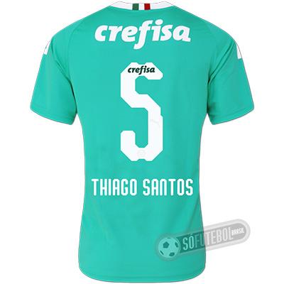 Camisa Palmeiras - Modelo III (THIAGO SANTOS #5)