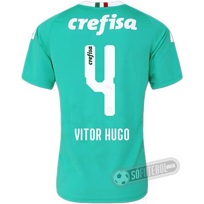 Camisa Palmeiras - Modelo III (VITOR HUGO #4)