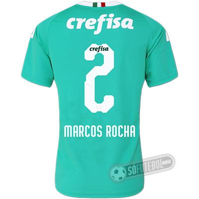 Camisa Palmeiras - Modelo III (MARCOS ROCHA #2)