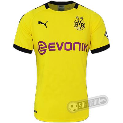 Camisa Borussia Dortmund - Modelo I