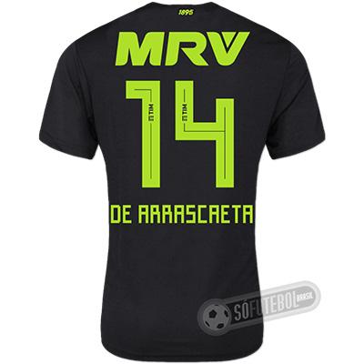 Camisa Flamengo - Modelo III (DE ARRASCAETA #14)