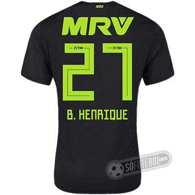 Camisa Flamengo - Modelo III (B. HENRIQUE #27)