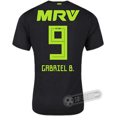 Camisa Flamengo - Modelo III (GABRIEL B. #9)