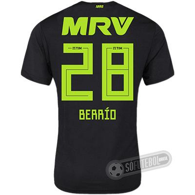 Camisa Flamengo - Modelo III (BERRÍO #28)