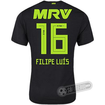 Camisa Flamengo - Modelo III (FILIPE LUÍS #16)