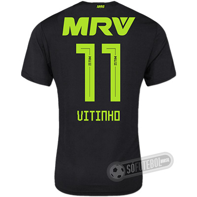 Camisa Flamengo - Modelo III (VITINHO #11)