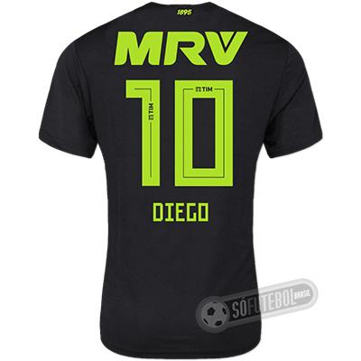 Camisa Flamengo - Modelo III (DIEGO #10)