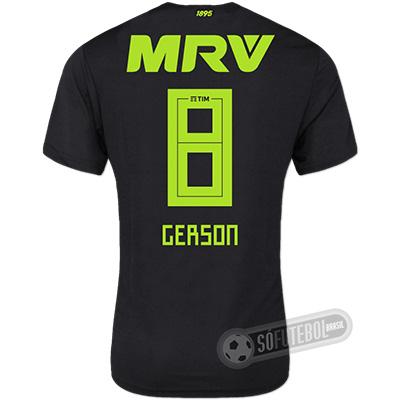 Camisa Flamengo - Modelo III (GERSON #8)